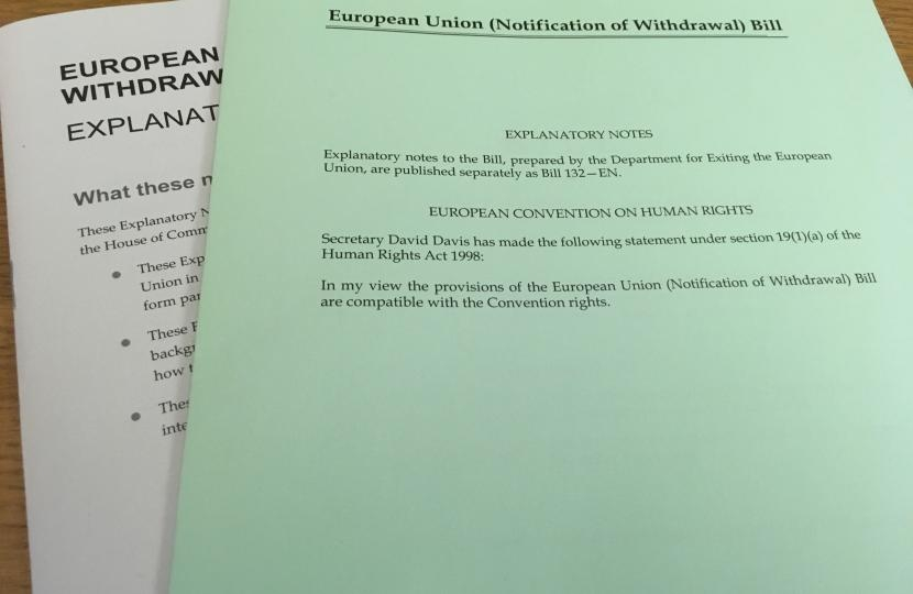 New Clause 110 of the EU Notification of Withdrawal Bill