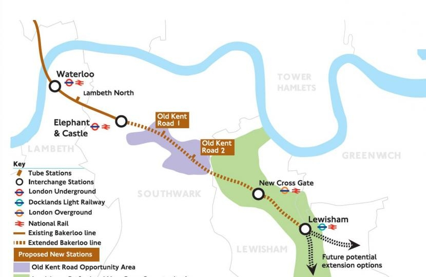 Bob Neill responds to consultation on Bakerloo Line extension